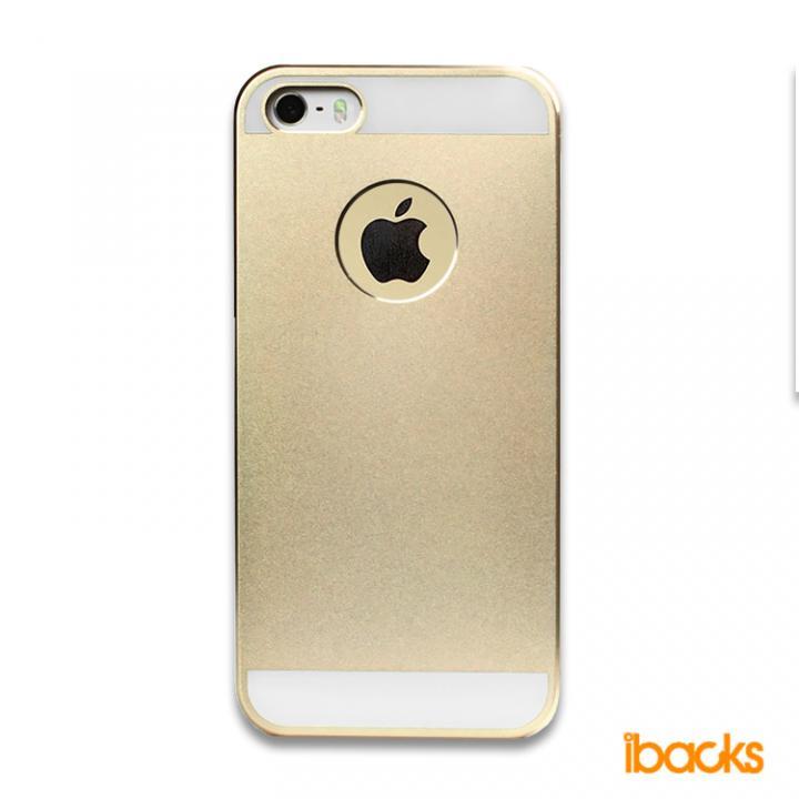 iPhone SE/5s/5 ケース 【iPhone SE/5s/5】ibacks Essence / ゴールド_0