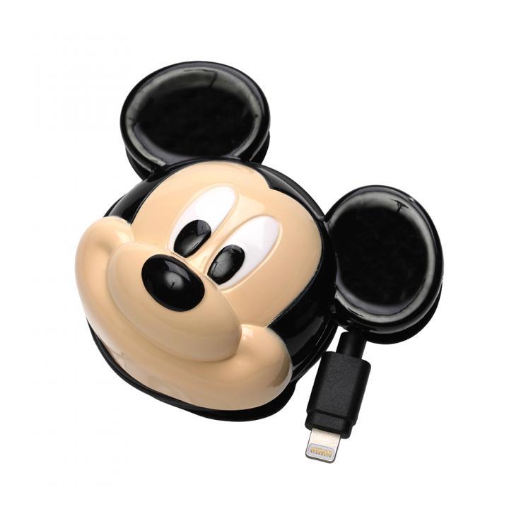 ディズニー Lightningコネクタ ダイカットAC充電器  ミッキーマウス