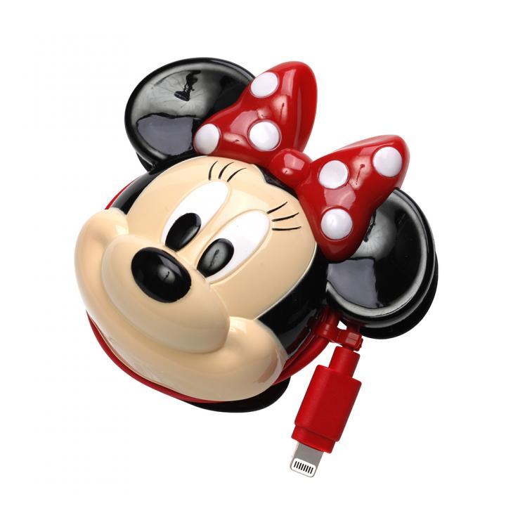 ディズニー Lightningコネクタ ダイカットAC充電器  ミニーマウス_0