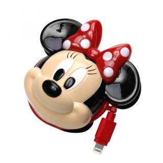 ディズニー Lightningコネクタ ダイカットAC充電器  ミニーマウス