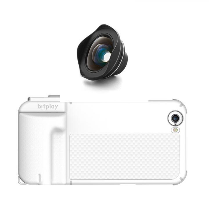 iPhone6s/6 ケース SNAP! PRO 物理シャッターボタン搭載ケース + HDワイドアングルレンズ EF 18mm ホワイト_0