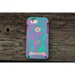 【iPhone7/6s/6ケース】EVA素材フルボディケース SURMY ピンク/グリーン iPhone 7/6s/6