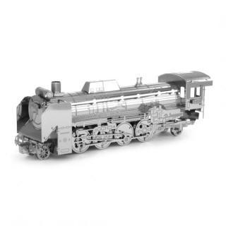 メタリックナノパズル D51-498号機形蒸気機関