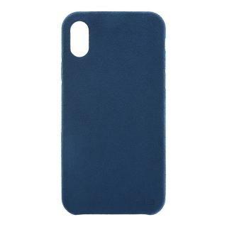 パワーサポート Ultrasuede Air jacket ブルー iPhone X