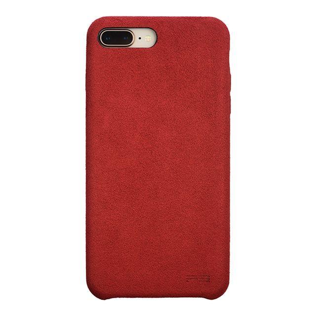 iPhone8 Plus/7 Plus ケース パワーサポート Ultrasuede Air jacket レッド iPhone 8 Plus/7 Plus_0