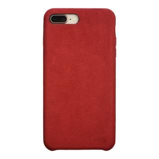 パワーサポート Ultrasuede Air jacket レッド iPhone 8 Plus/7 Plus