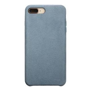 パワーサポート Ultrasuede Air jacket スカイ iPhone 8 Plus/7 Plus