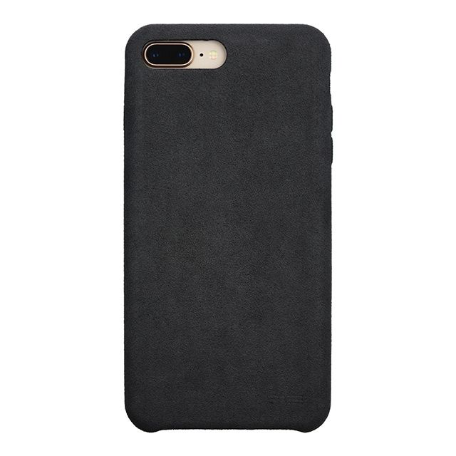 パワーサポート Ultrasuede Air jacket アスファルト iPhone 8 Plus/7 Plus