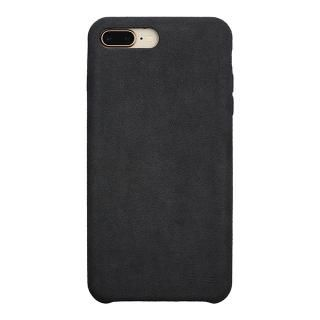 【iPhone8 Plus/7 Plusケース】パワーサポート Ultrasuede Air jacket アスファルト iPhone 8 Plus/7 Plus