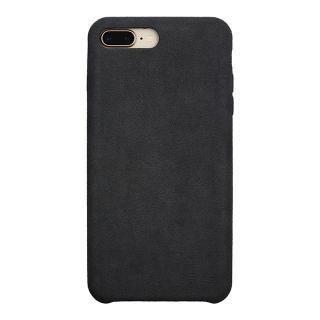 iPhone8 Plus/7 Plus ケース パワーサポート Ultrasuede Air jacket アスファルト iPhone 8 Plus/7 Plus