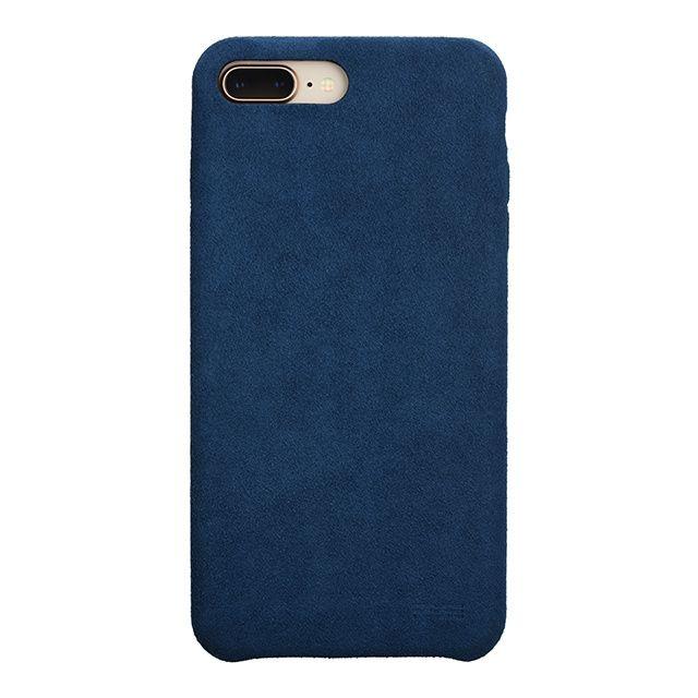 iPhone8 Plus/7 Plus ケース パワーサポート Ultrasuede Air jacket ブルー iPhone 8 Plus/7 Plus_0