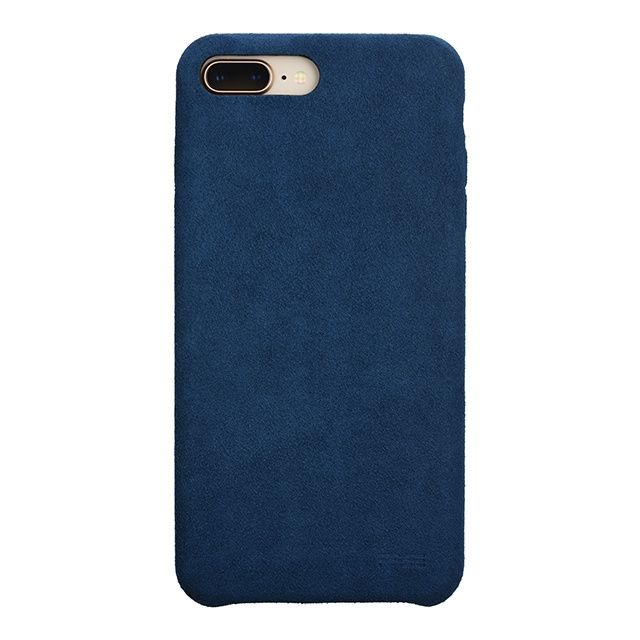 パワーサポート Ultrasuede Air jacket ブルー iPhone 8 Plus/7 Plus