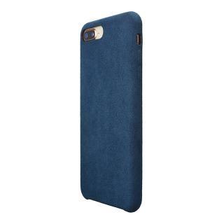 【iPhone8 Plus/7 Plusケース】パワーサポート Ultrasuede Air jacket ブルー iPhone 8 Plus/7 Plus_1