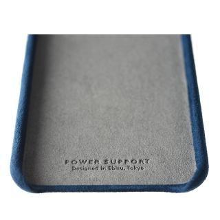 【iPhone8 Plus/7 Plusケース】パワーサポート Ultrasuede Air jacket ブルー iPhone 8 Plus/7 Plus_3