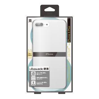 【iPhone8 Plus/7 Plusケース】パワーサポート Ultrasuede Air jacket ブルー iPhone 8 Plus/7 Plus_7