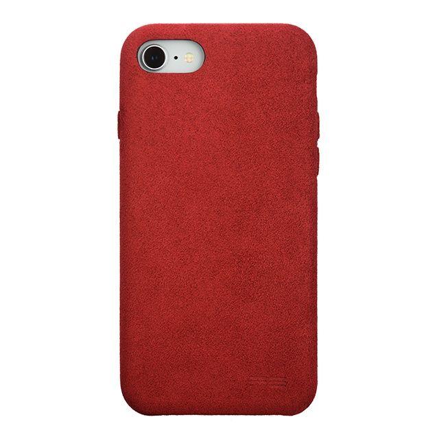 パワーサポート Ultrasuede Air jacket レッド iPhone 8/7