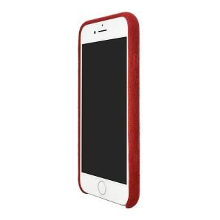 【iPhone8/7ケース】パワーサポート Ultrasuede Air jacket レッド iPhone 8/7_2