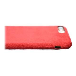【iPhone8/7ケース】パワーサポート Ultrasuede Air jacket レッド iPhone 8/7_5