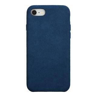 パワーサポート Ultrasuede Air jacket ブルー iPhone 8/7