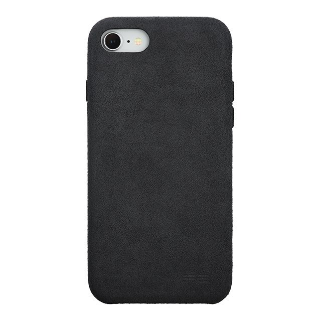 【iPhone8/7ケース】パワーサポート Ultrasuede Air jacket アスファルト iPhone 8/7_0