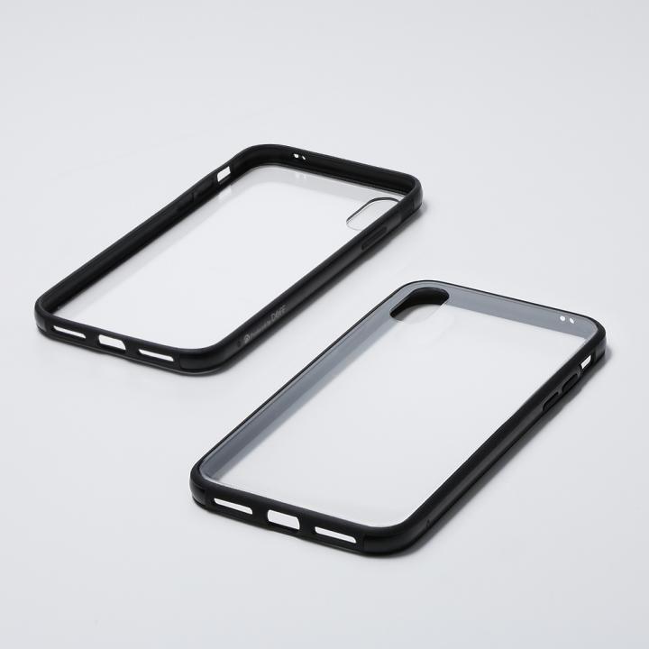 iPhone XS/X ケース Deff Hybrid Case Etanze クリアブラック iPhone XS/X_0
