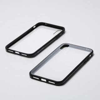 iPhone XS/X ケース Deff Hybrid Case Etanze クリアブラック iPhone XS/X