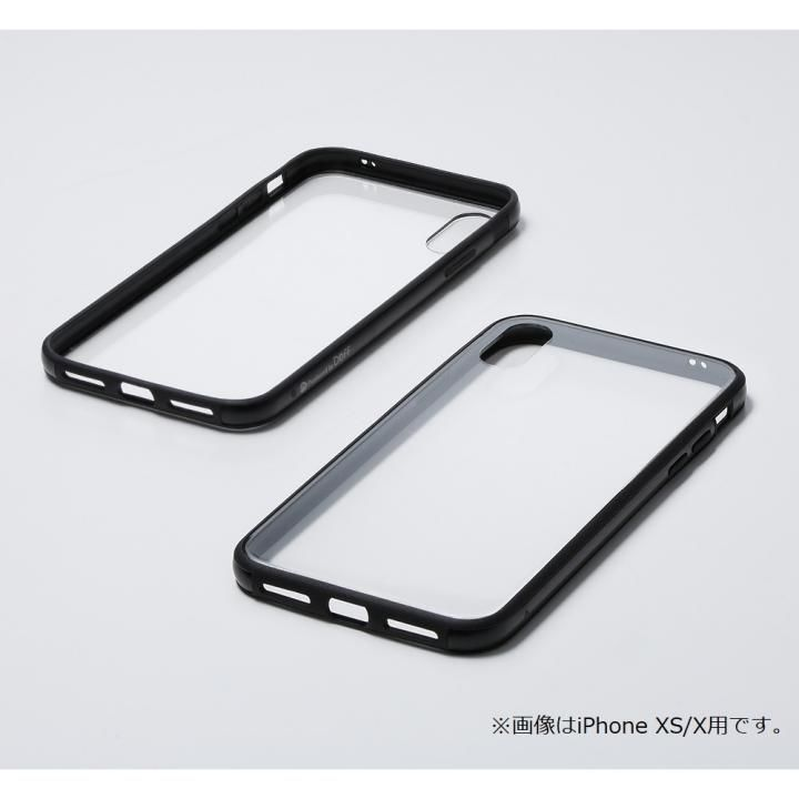 iPhone XR ケース Deff Hybrid Case Etanze クリアブラック iPhone XR_0