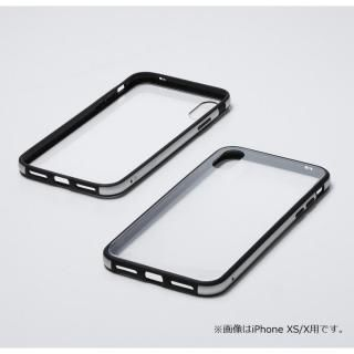 【iPhone XRケース】Deff Hybrid Case Etanze クリアシルバー iPhone XR