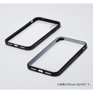 iPhone XS Max ケース Deff Hybrid Case Etanze クリアブラック iPhone XS Max