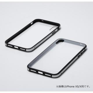 iPhone XS Max ケース Deff Hybrid Case Etanze クリアシルバー iPhone XS Max