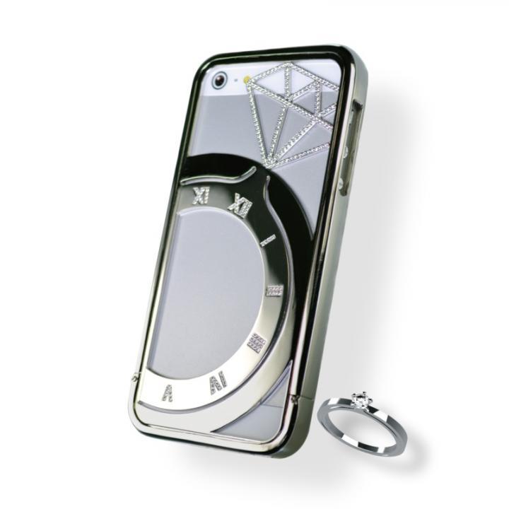 iPhone SE/5s/5 ケース iPhone SE/5s/5ジュエリーケース シルバー_0