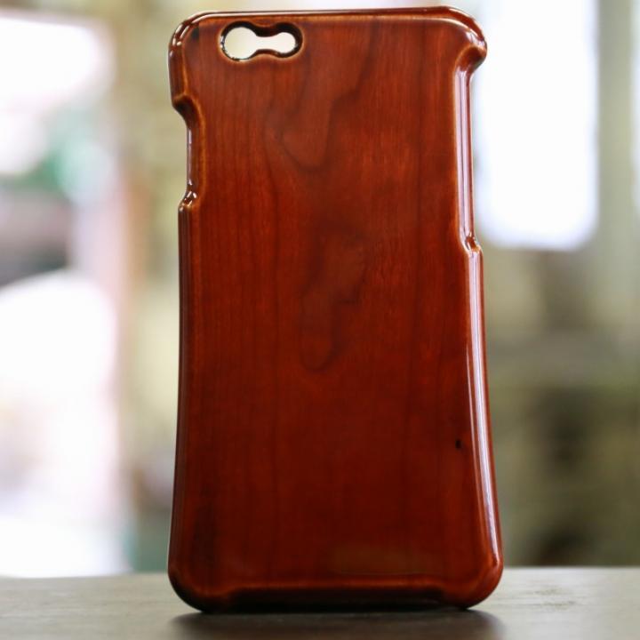 【iPhone6s/6ケース】松葉製作所飛騨春慶塗 木製ケース iPhone 6s/6_0