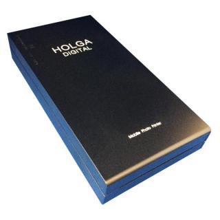 Holga Digital モバイルフォトプリンター ブラック