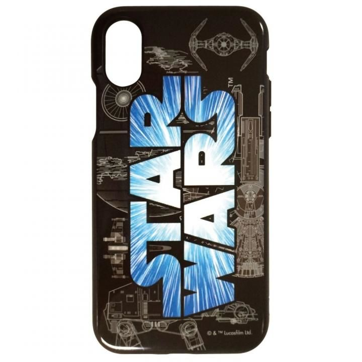 iPhone X ケース STAR WARS IIII fitロゴ iPhone X_0
