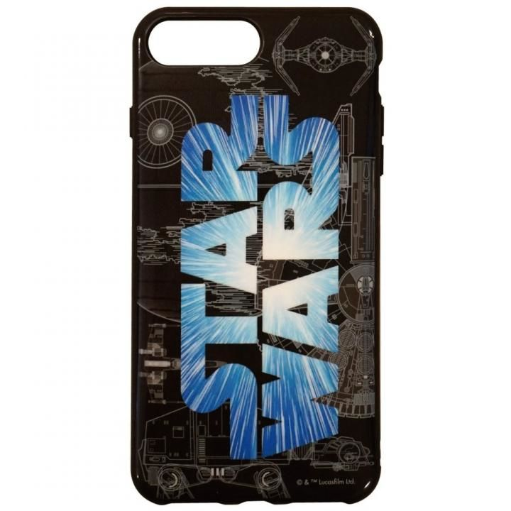 STAR WARS IIII fitロゴ iPhone 8 Plus/7 Plus/6s Plus/6 Plus