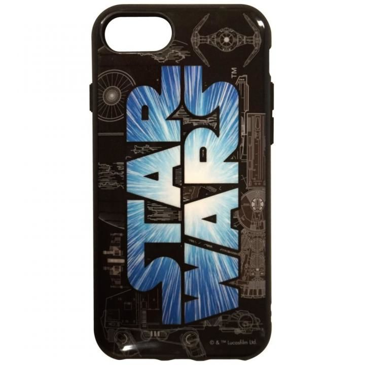 【iPhone8/7/6s/6ケース】STAR WARS IIII fitロゴ iPhone 8/7/6s/6【12月下旬】_0