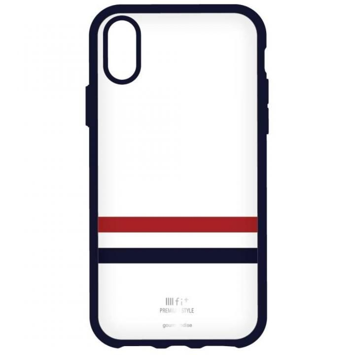 IIII fit Premium iPhone X ホワイト