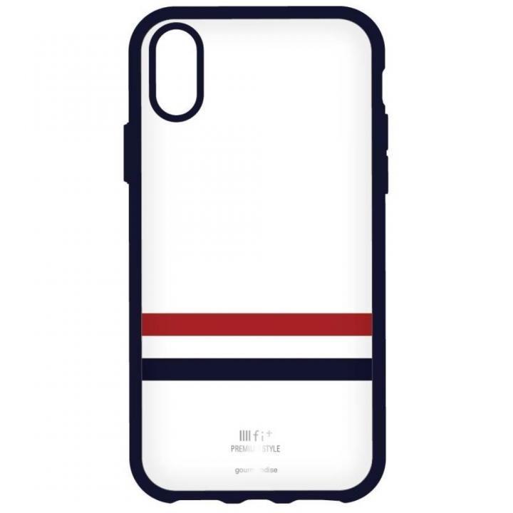 iPhone X ケース IIII fit Premium iPhone X ホワイト_0