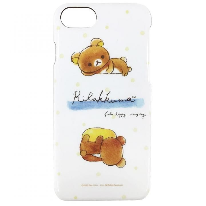 iPhone8/7/6s/6 ケース リラックマ ハードケース 水彩 iPhone 8/7/6s/6_0