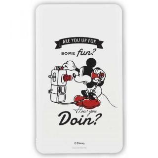 ディズニーキャラクター モバイルバッテリー ミッキーマウス