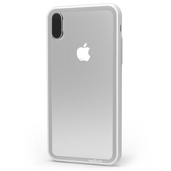 iPhone XS/X ケース LINKASE CLEAR Gorilla Glass グレイ iPhone XS/X_0