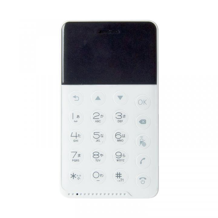 NichePhone-S SIMフリースマートフォン Android 4.2搭載 ホワイト_0