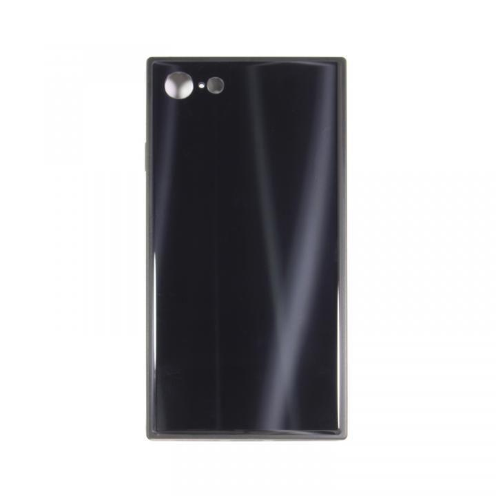 【iPhone8/7ケース】SQUBE AURORA CASE 背面ケース ブラック iPhone 8/7_0