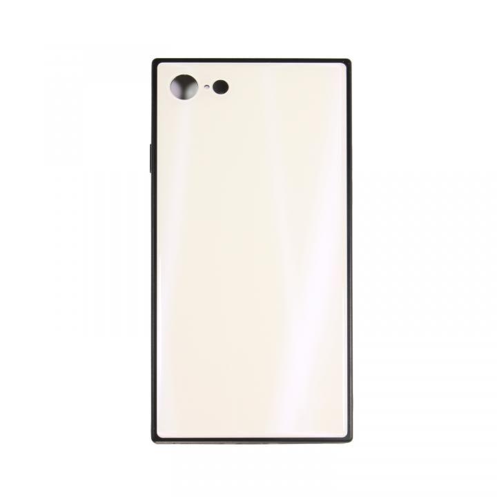 【iPhone8/7ケース】SQUBE AURORA CASE 背面ケース ホワイト iPhone 8/7【12月上旬】_0