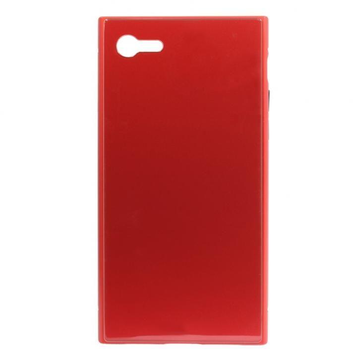 iPhone8/7 ケース SQUBE PREMIUM CASE 背面ケース レッド iPhone 8/7_0