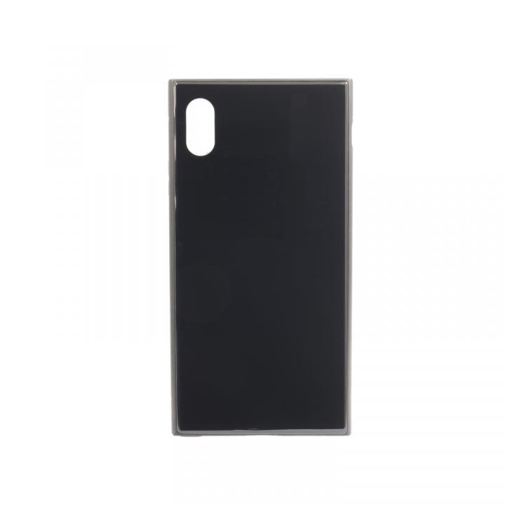 iPhone XS Max ケース SQUBE PREMIUM CASE 背面ケース ブラック iPhone XS Max_0