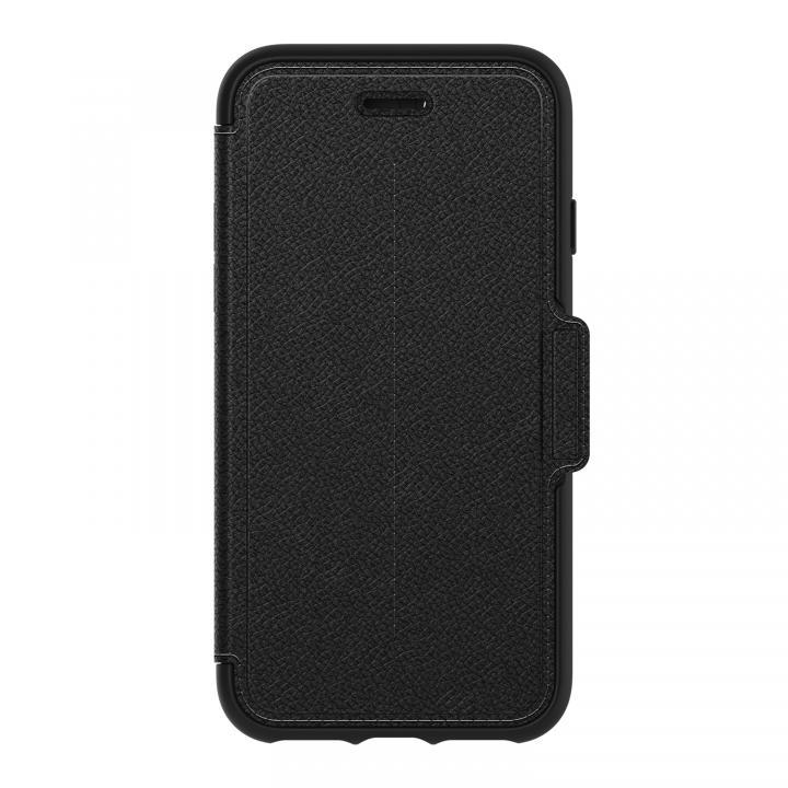 OtterBox Strada 耐衝撃本革製手帳型ケース ブラック iPhone 7