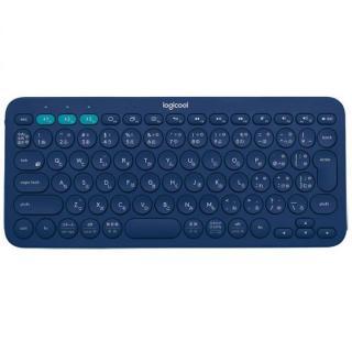 マルチデバイス Bluetoothキーボード logicool K380 ブルー