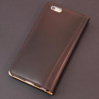 コードバン手帳型ケース ULTIMO REBONALLY ブラウン iPhone 6s Plus/6 Plus