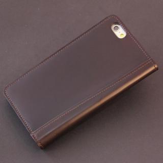 コードバン手帳型ケース ULTIMO REBONALLY ブラウン iPhone 6s/6